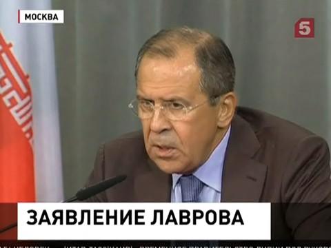 Сергей Лавров опроверг информацию о вводе наших войск на Украину