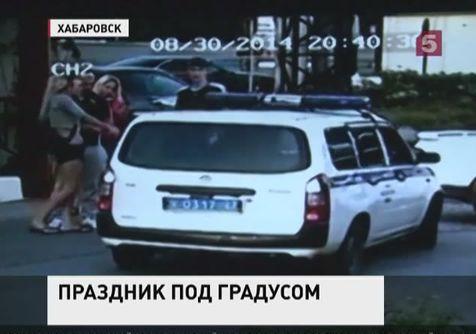 Чтобы прекратить дебош в Хабаровске, полицейские применили табельное оружие