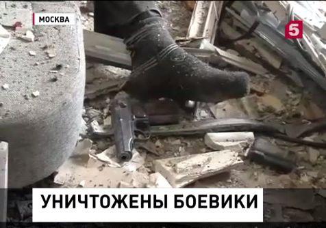 В Дербенте в ходе спецоперации уничтожены два боевика