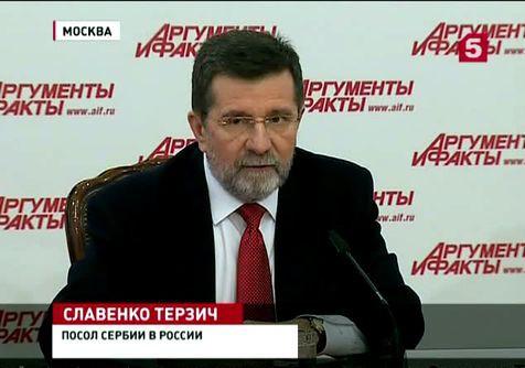 Белград отказывается вводить санкции против России