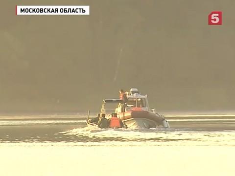 спасатели поднимают истринского водохранилища тела погибших