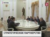 Владимир Путин встретился в Москве с главой МИД Китая