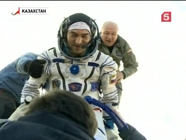 Обновленный «Союз» доставил космонавтов на Землю