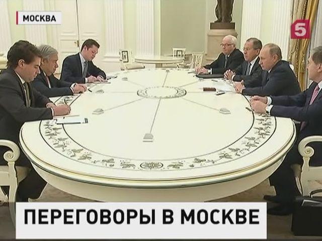 Владимир Путин встретился с избранным генсеком ООН