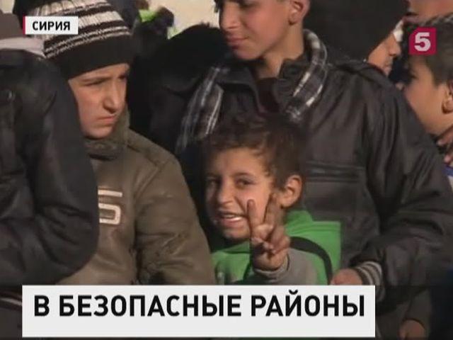 В Сирии - крупнейшая операция по спасению  жителей