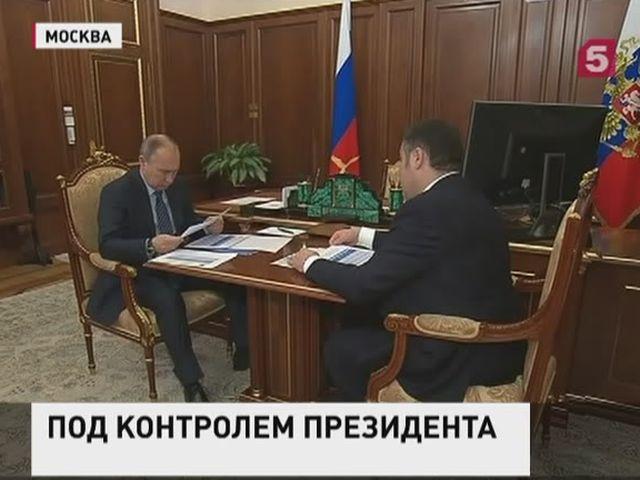 Владимир Путин встретился с губернатором Тверской области