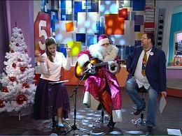 Новогодние пожелания телезрителям от программы «Утро на 5»