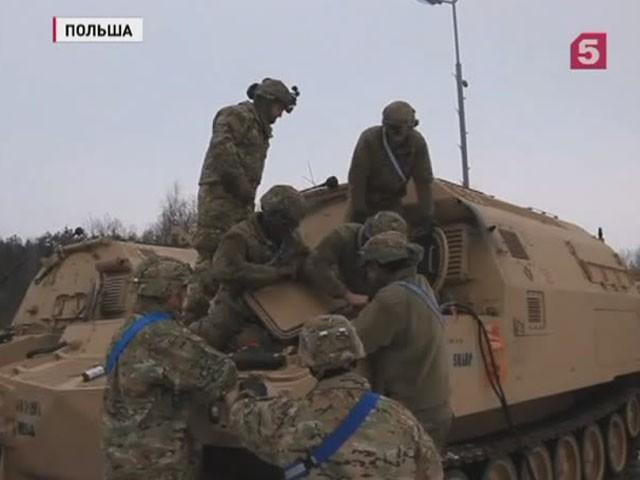 В Польшу прибыла группа из 300 американских военнослужащих