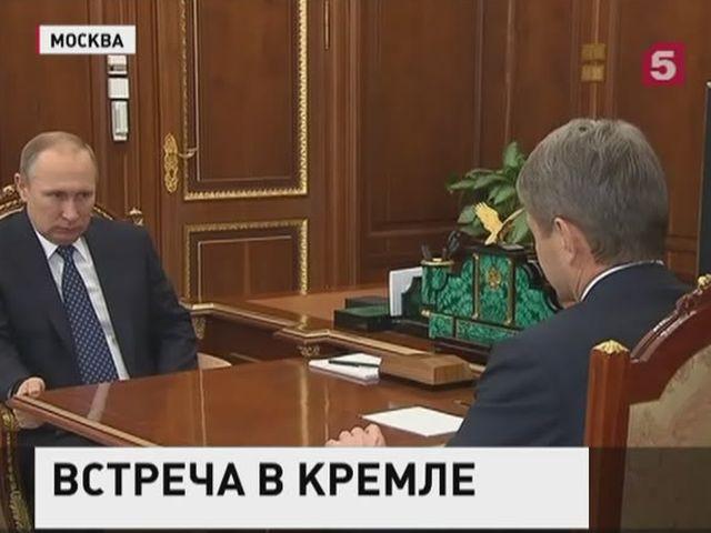 Ткачев рассказал Путину о запуске дешевых кредитов для фермеров