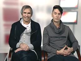 Гости программы: заслуженные артисты России Бари Алибасов и Владимир Политов