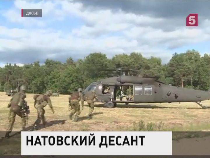 О�е�едная г��ппа вой�к НАТО пополни� межд�на�одн�й