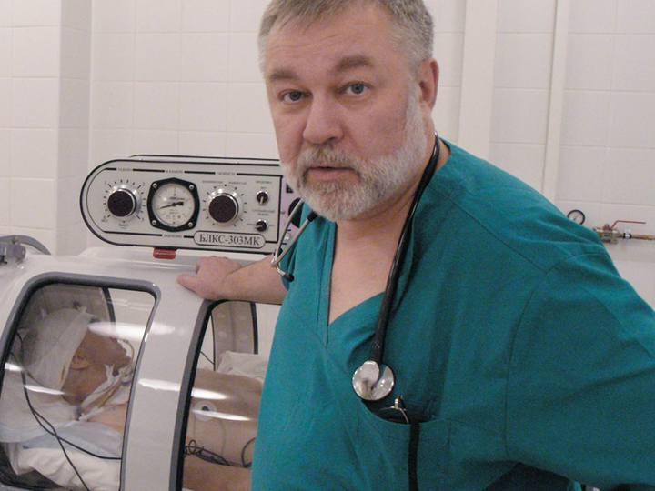 ВРоссии разработают профстандарты для водолазных врачей
