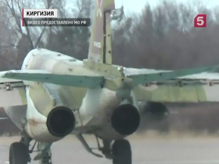 Российские штурмовики переброшены вТаджикистан для участия всовместных антитеррористических учениях