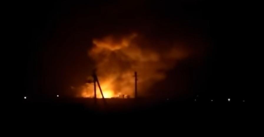 ВИндии вспыхнул завод боеприпасов
