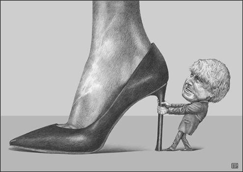 Мария Захарова опубликовала карикатуру наДжонсона ФОТО