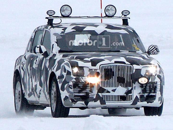 ВШвеции испытали новый лимузин «для президента России»
