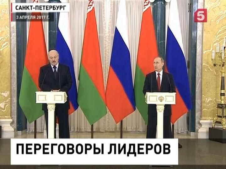 Лукашенко: Нефтегазовые баталии закончены