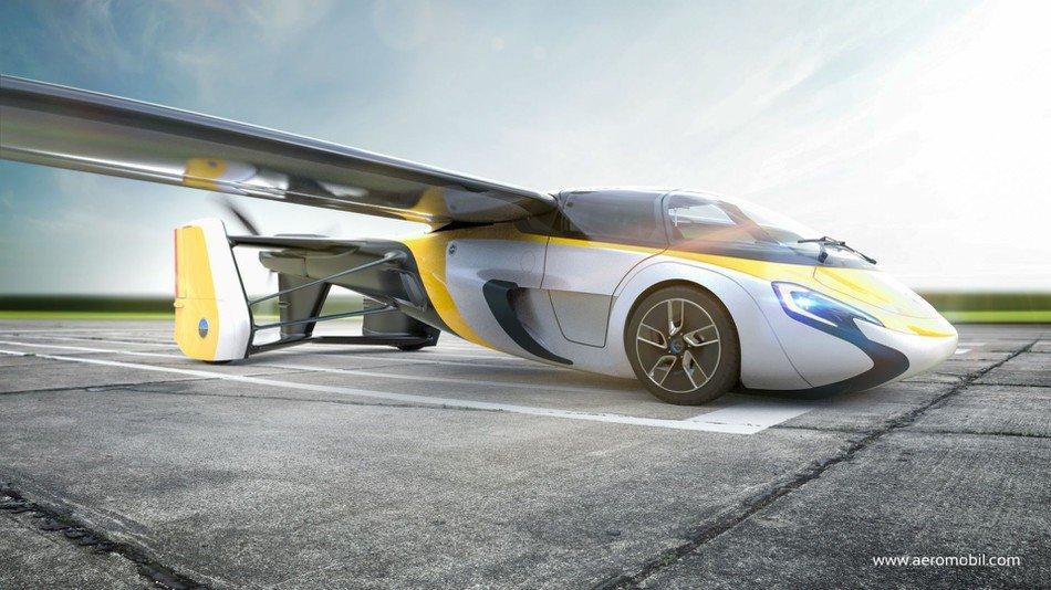 Уже вэтом году Словакия начнёт продавать летающие автомобили ВИДЕО