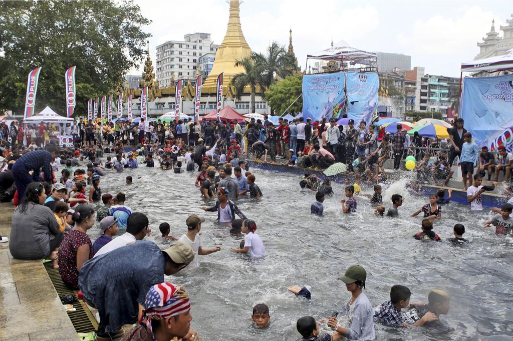 285 человек погибли нафестивале вМьянме
