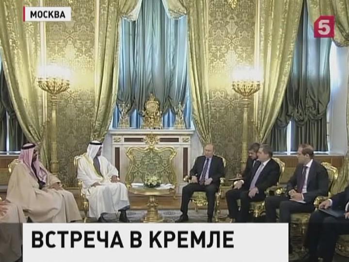 Владимир Путин провёл встречу снаследным принцем Абу-Даби