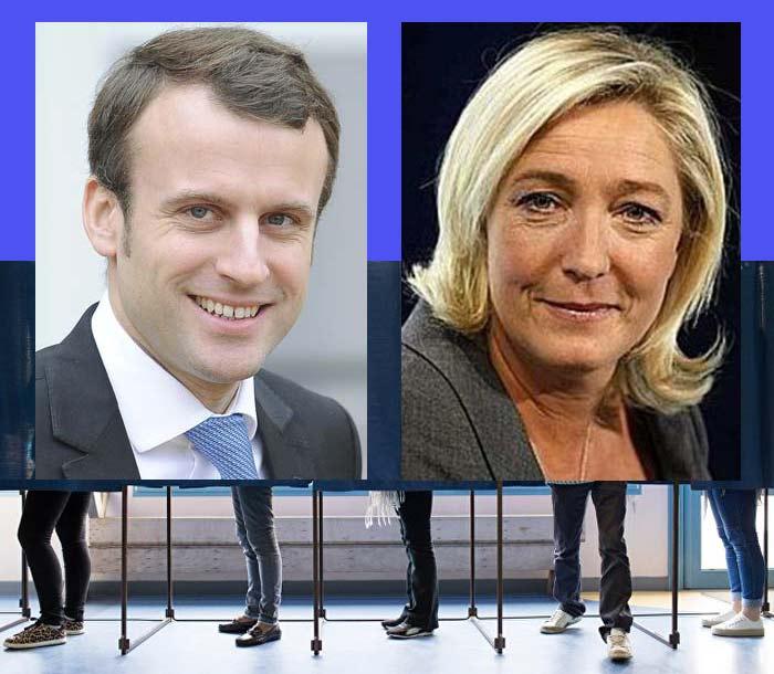 Политологи полагают, что Макрон вовтором туре одержит победу над ЛеПен