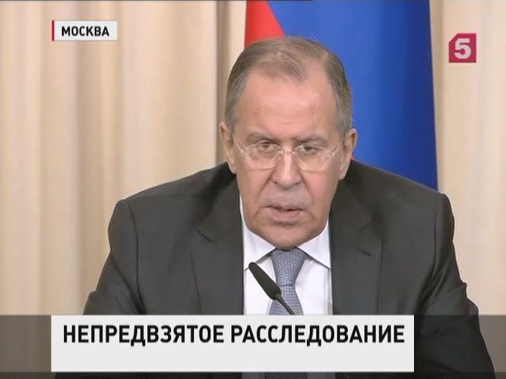 Лавров: виновники взрыва автомобиля ОБСЕ должны быть наказаны