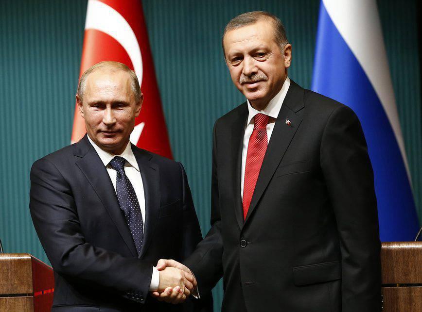 Путин иЭрдоган обсудят двусторонние отношения