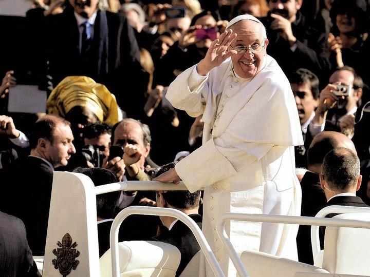 Глава Римско-католической церкви призвал все религии объединиться для борьбы стерроризмом