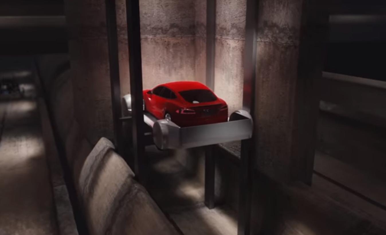 Илон Маск решил проблему пробок ипредставилпроект подземных туннелей ВИДЕО