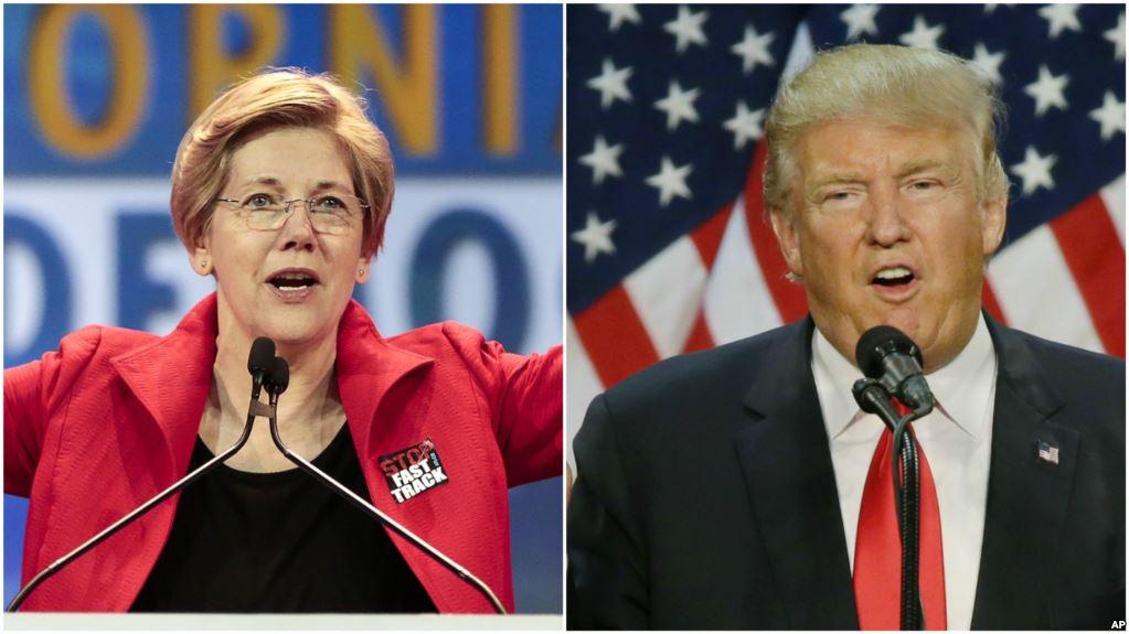 Дональд Трамп назвал Пакахонтас своим главным конкурентом вборьбе запрезидентство-2020