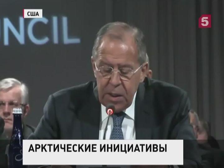 Лавров: Россия делает всё, чтобы Арктика развивалась