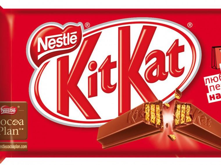 Nestle проиграла судебный спор оформе шоколадки KitKat