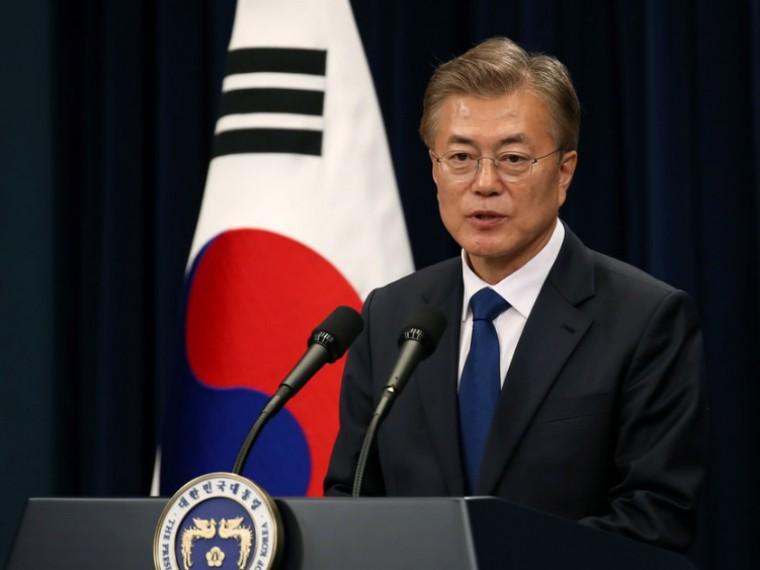 Рейтинг нового президента Южной Кореи Мун Чжэ Ина превышает80%
