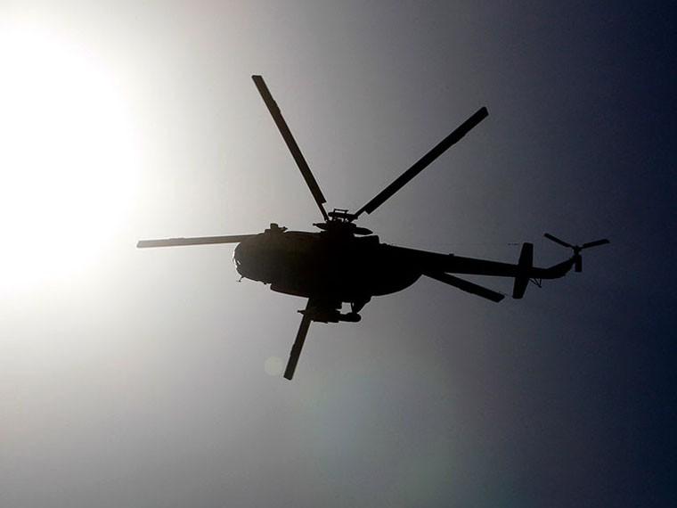 ВАлжире разбился военный вертолет