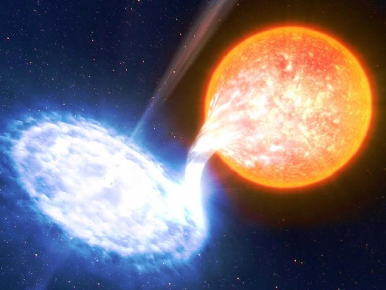 Учёные нашли главных производителей антиматерии внашей галактике