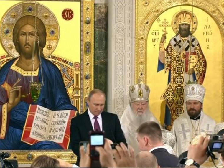 Владимир Путин посетил Сретенский монастырь