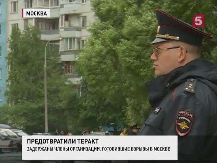 Сотрудники ФСБ задержали подозреваемых вподготовке ктерактам вМоскве
