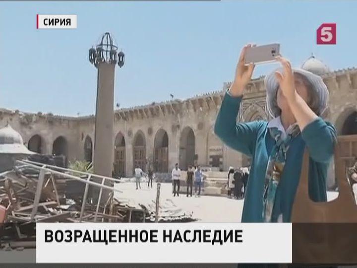 Восвобожденных городах Сирии собираются возрождать туризм