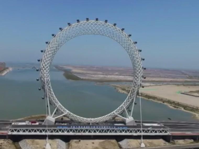 Дубай самое большое колесо обозрения в
