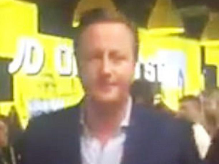 «Язанимал!» Экс-премьер Великобритании Дэвид Кэмерон пытался купить носки без очереди