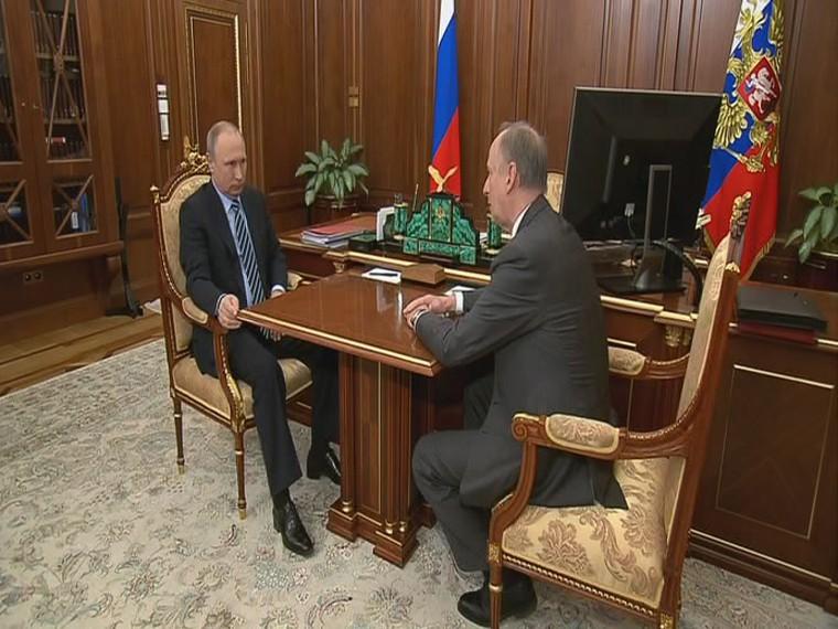 Путин поздравил Патрушевас25-летием создания российского Совбеза