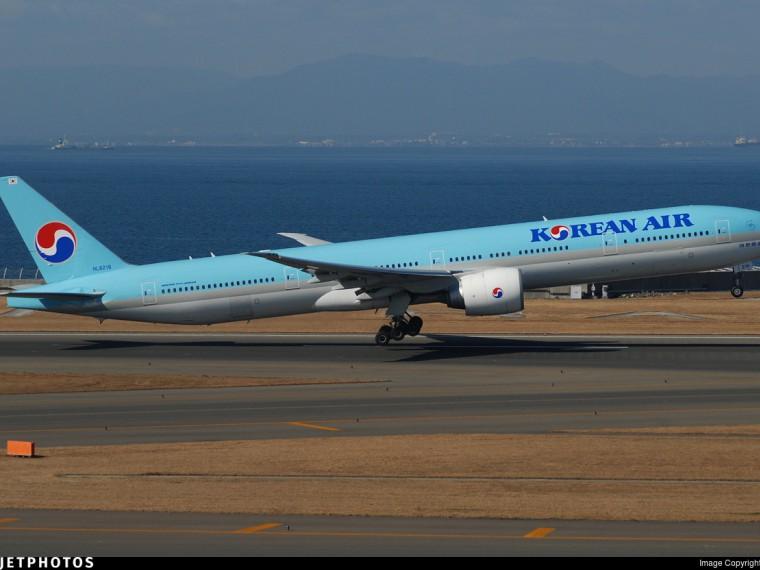 Самолет Korean Air экстренно сел вЯпонии из-за задымления вкабине