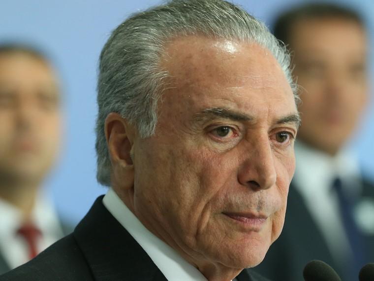 Бразильский суд начал заседание, накотором может решиться судьба президента страны