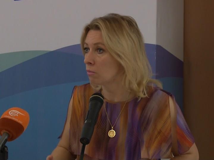 Мария Захарова приняла участие воткрытии международного медиафорума «Открытый Крым: своими глазами»