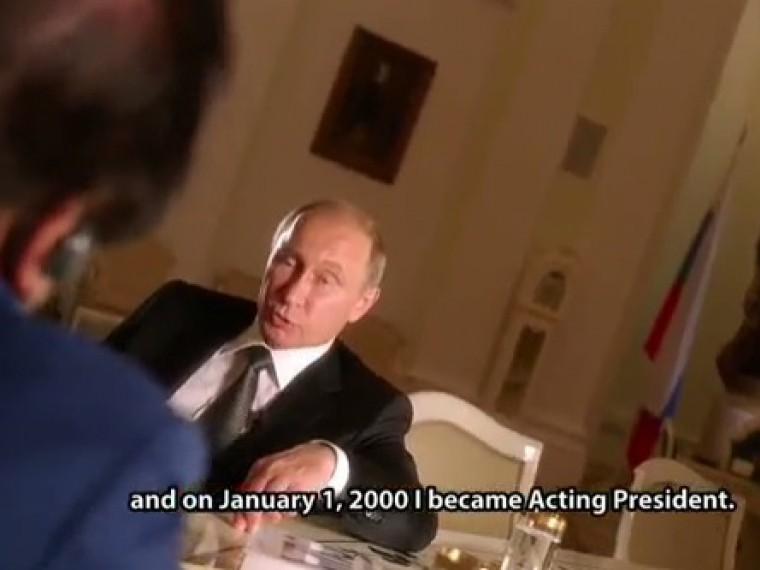 Фильм оПутине наShоwТimе начался срассказа президента России освоей семье