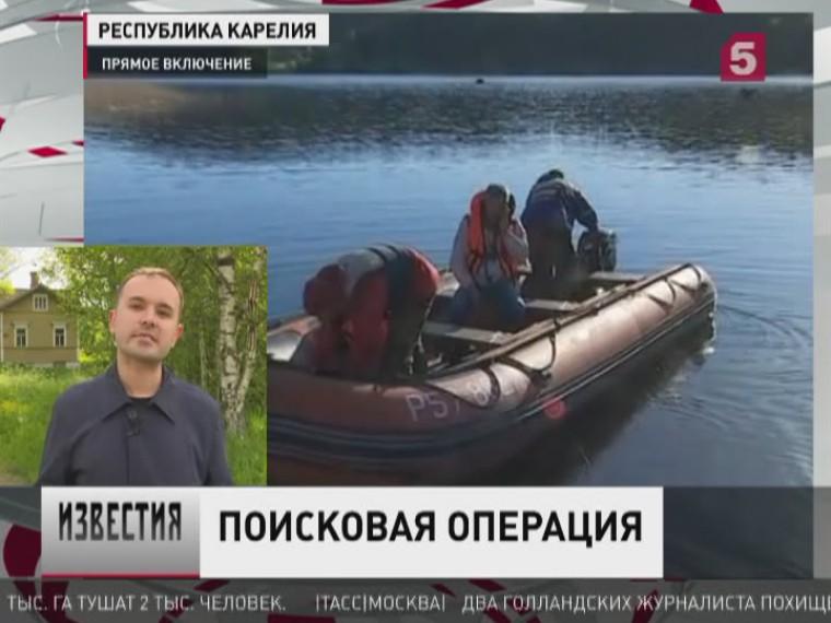 ВКарелии продолжили искатьподростков сперевернувшейся наЛадожском озере лодки