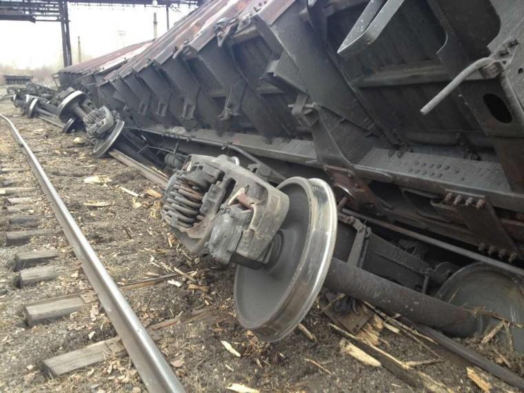 Крушение поезда произошло вЗабайкалье