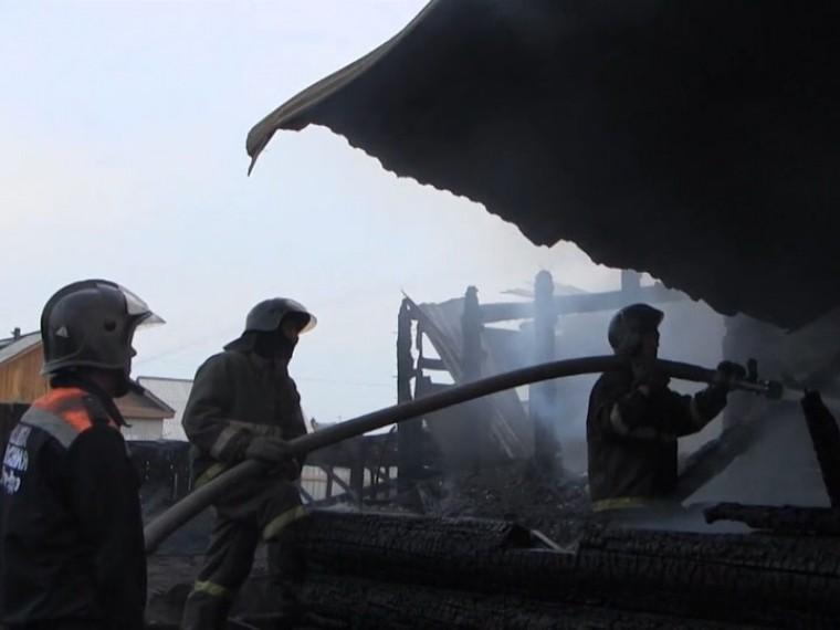 ВБурятии ликвидировали крупный пожар