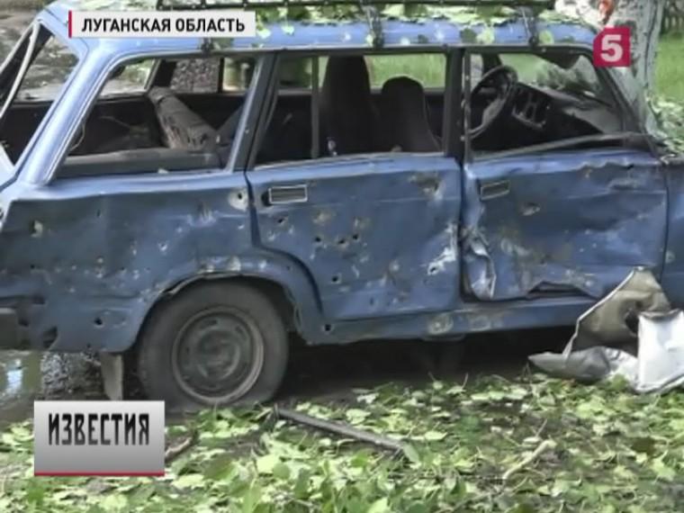 Врезультате двух взрывов вЛуганске погиб один человек, семеро ранены