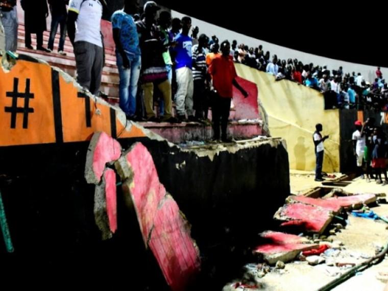 Соболезнования семьям погибших вдавке настадионе вСенегале выразил УЕФА
